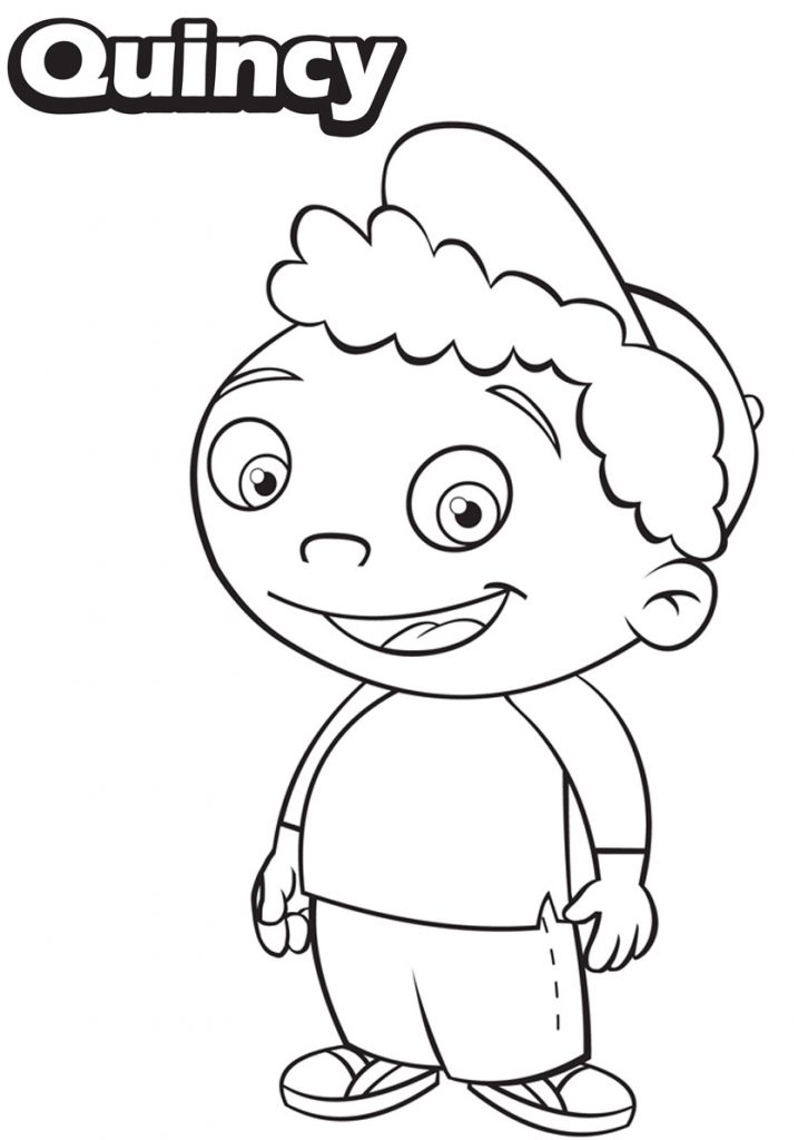Little Einsteins Coloring Pages - Quincy
