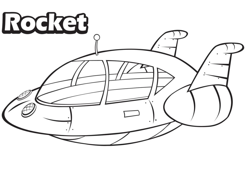 Little Einsteins Coloring Pages - Rocket