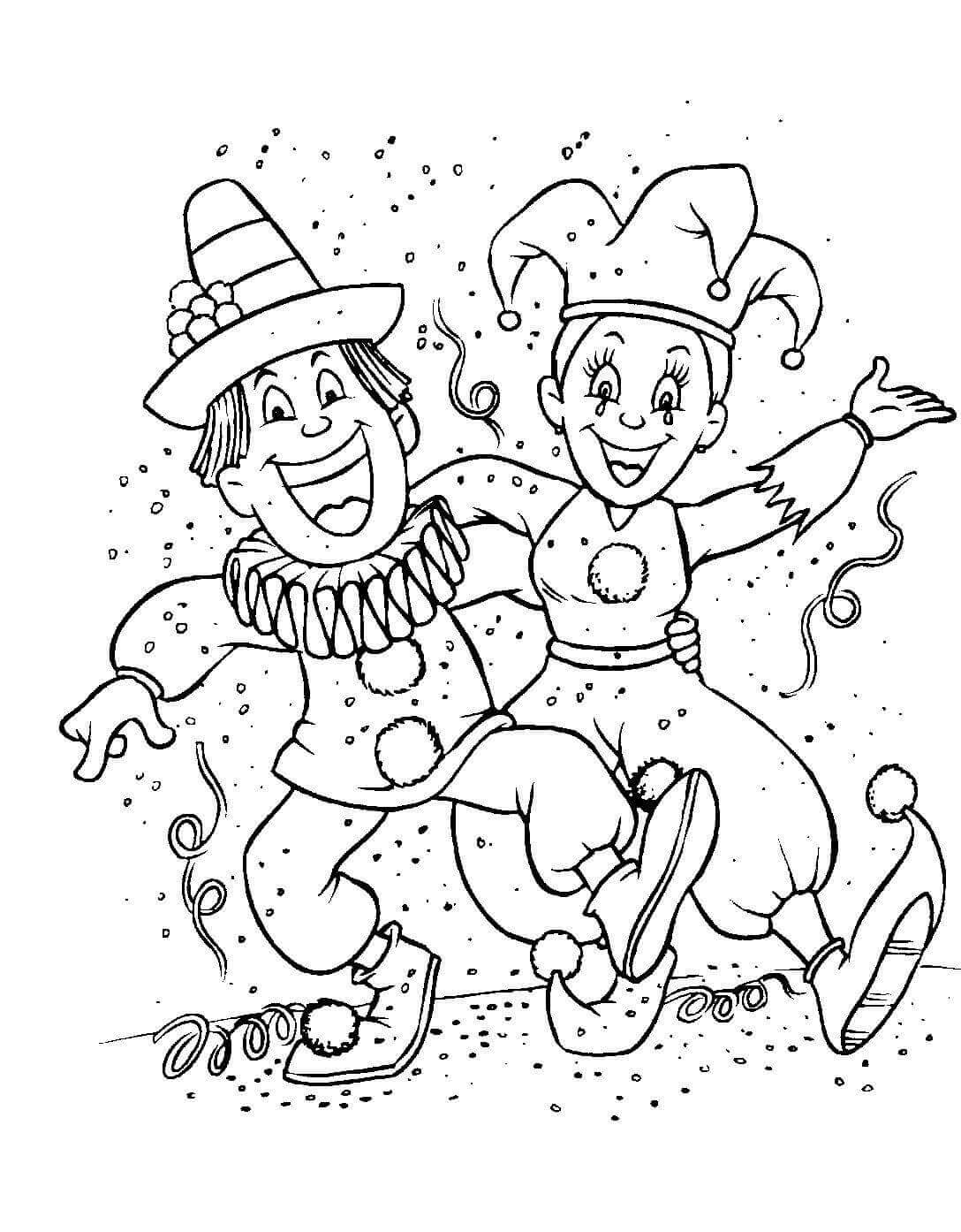 The Carnival Season Of Mardi Gras Coloring Pages | Mardi gras ... | 1394x1088