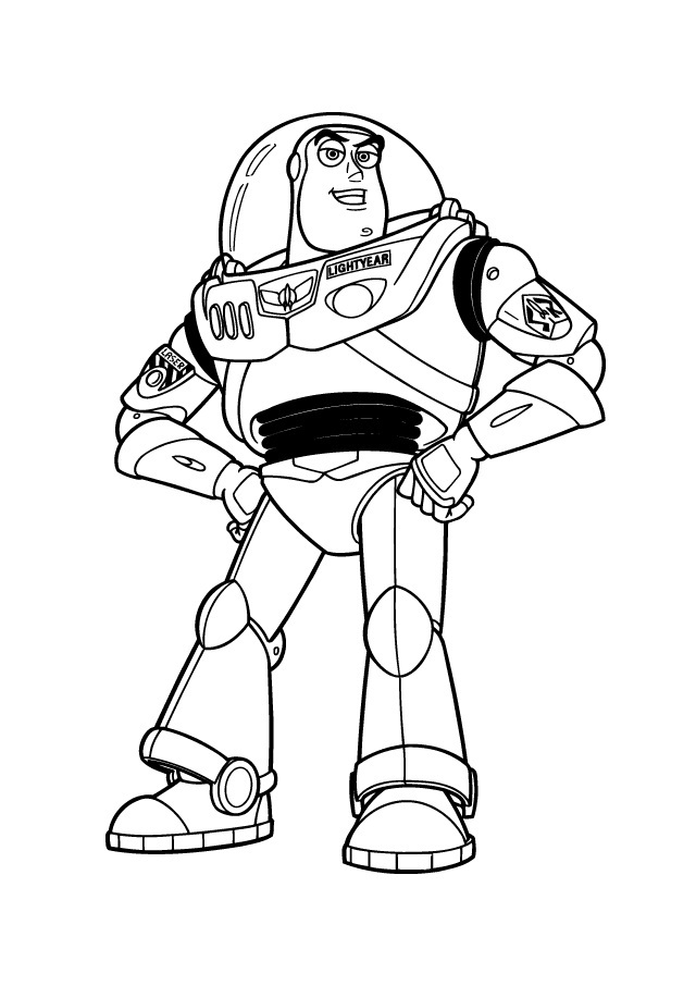 Buzz Lightyear Coloring Pages to Print