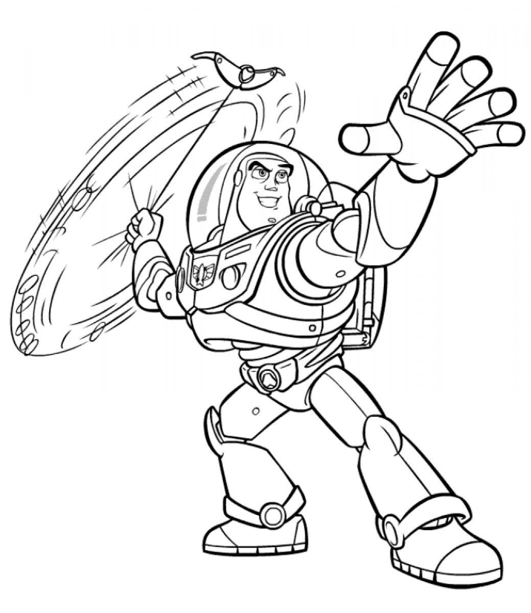 Free Printable Buzz Lightyear Coloring