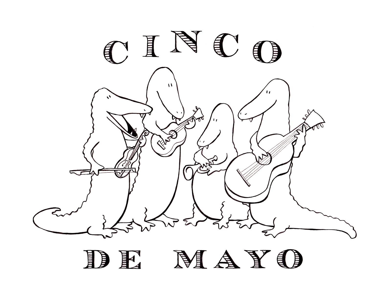 photo relating to Cinco De Mayo Coloring Pages Printable known as Cost-free Printable Cinco De Mayo Coloring Webpages For Little ones - Easiest