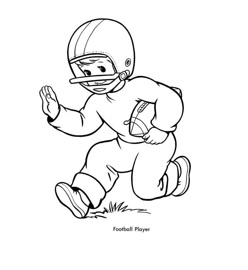 Coloring Page for Boys