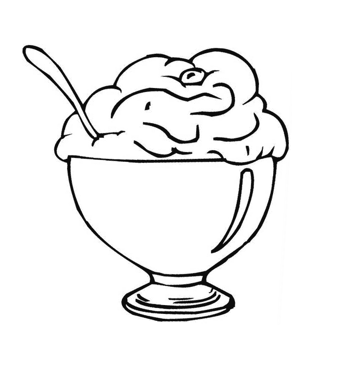 Coloring Pages Ice Cream
