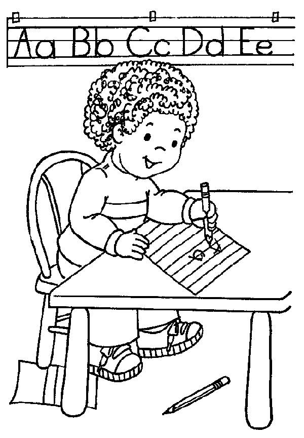 kindergarten coloring pages school - photo#15