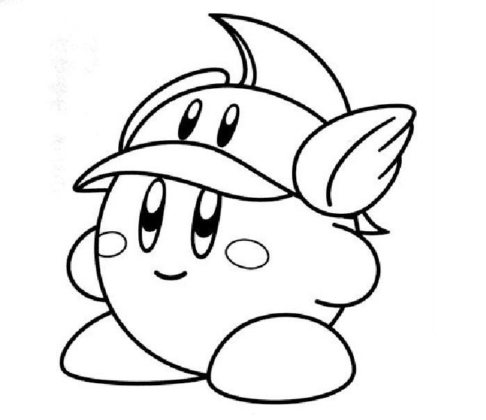 Kirby Coloring Pages Photos