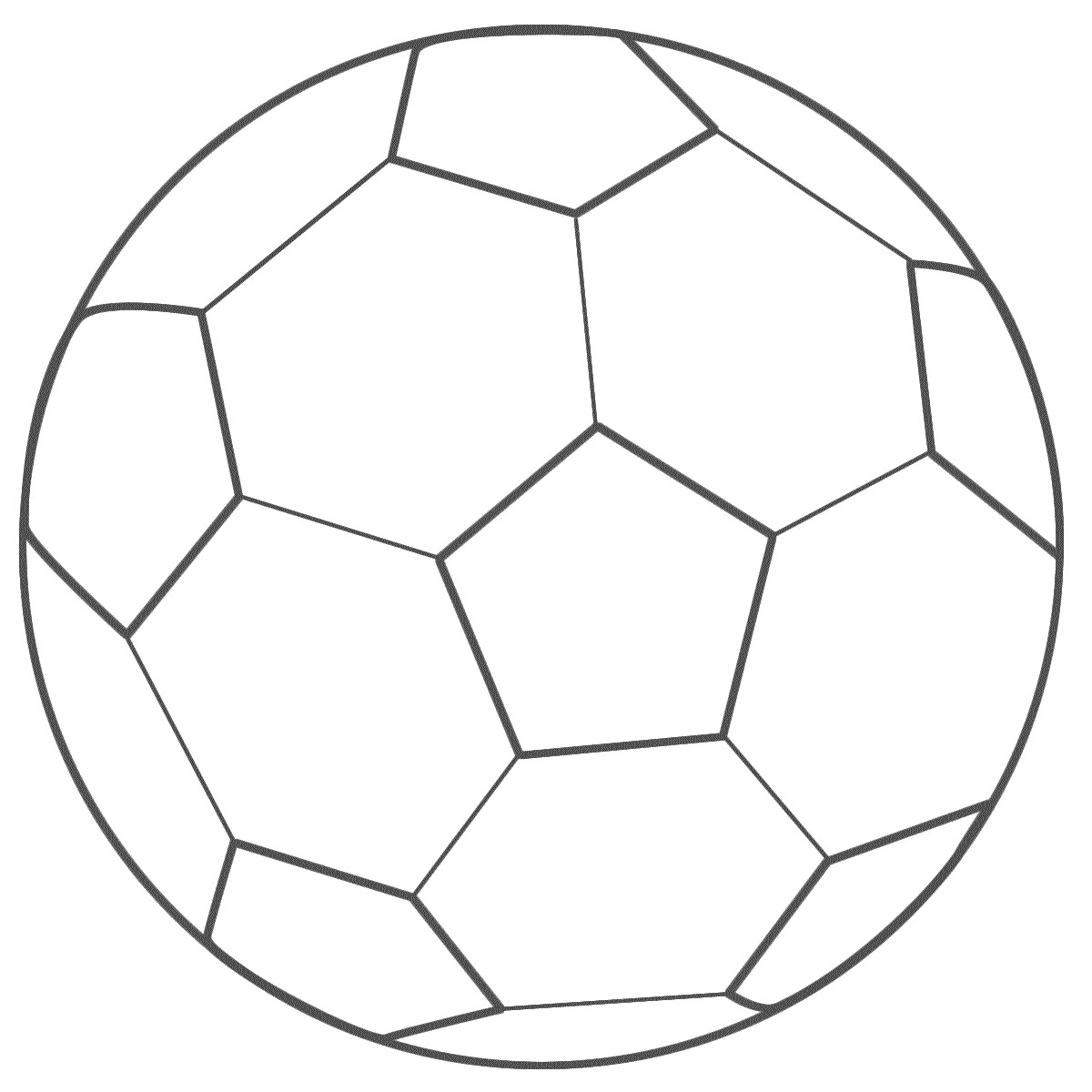photo regarding Free Printable Soccer Ball identify Absolutely free Printable Football Coloring Internet pages For Little ones