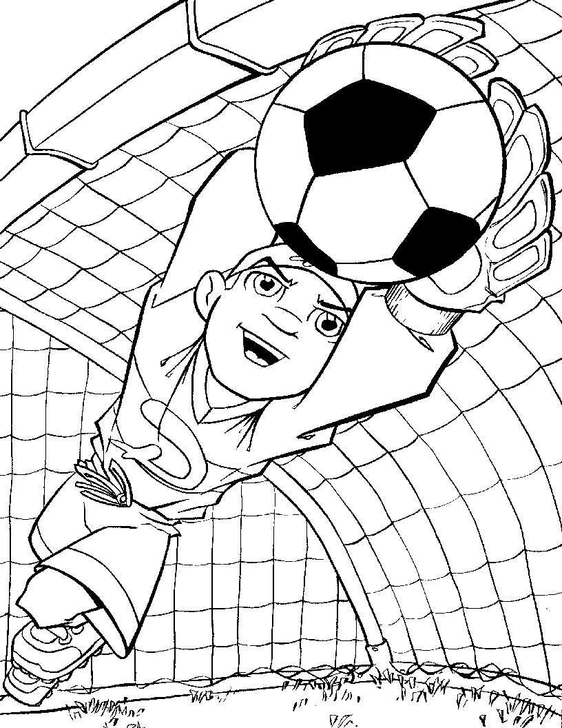 Free Printable Soccer Coloring