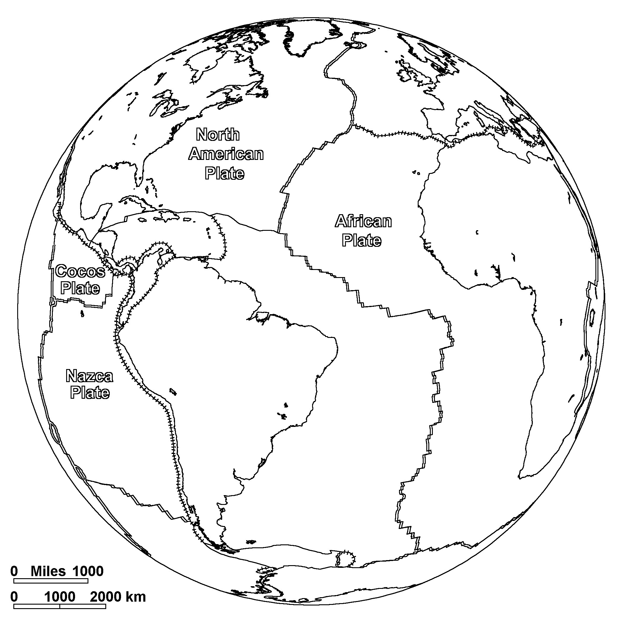 Free Printable World Map Coloring Pages For Kids - Best Coloring ...