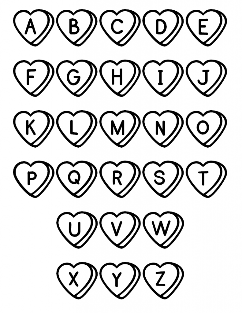 Free printable abc coloring pages for kids - Alphabet dessin ...