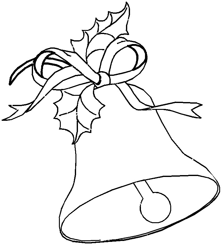 Bells Coloring Pages for Kids