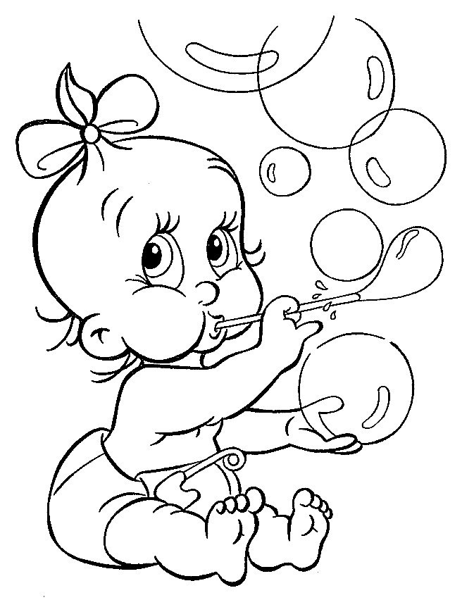 photo relating to Baby Printable Coloring Pages titled Free of charge Printable Youngster Coloring Internet pages For Small children