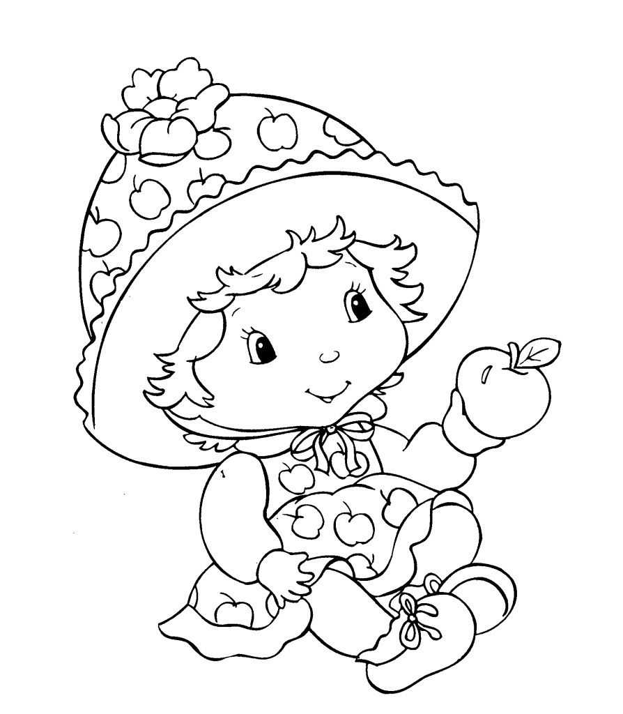 Free printable baby coloring pages for kids for Coloring book pages for toddlers