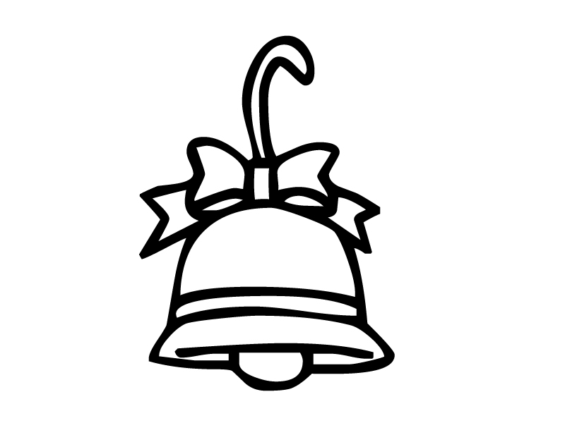 free bell coloring pages