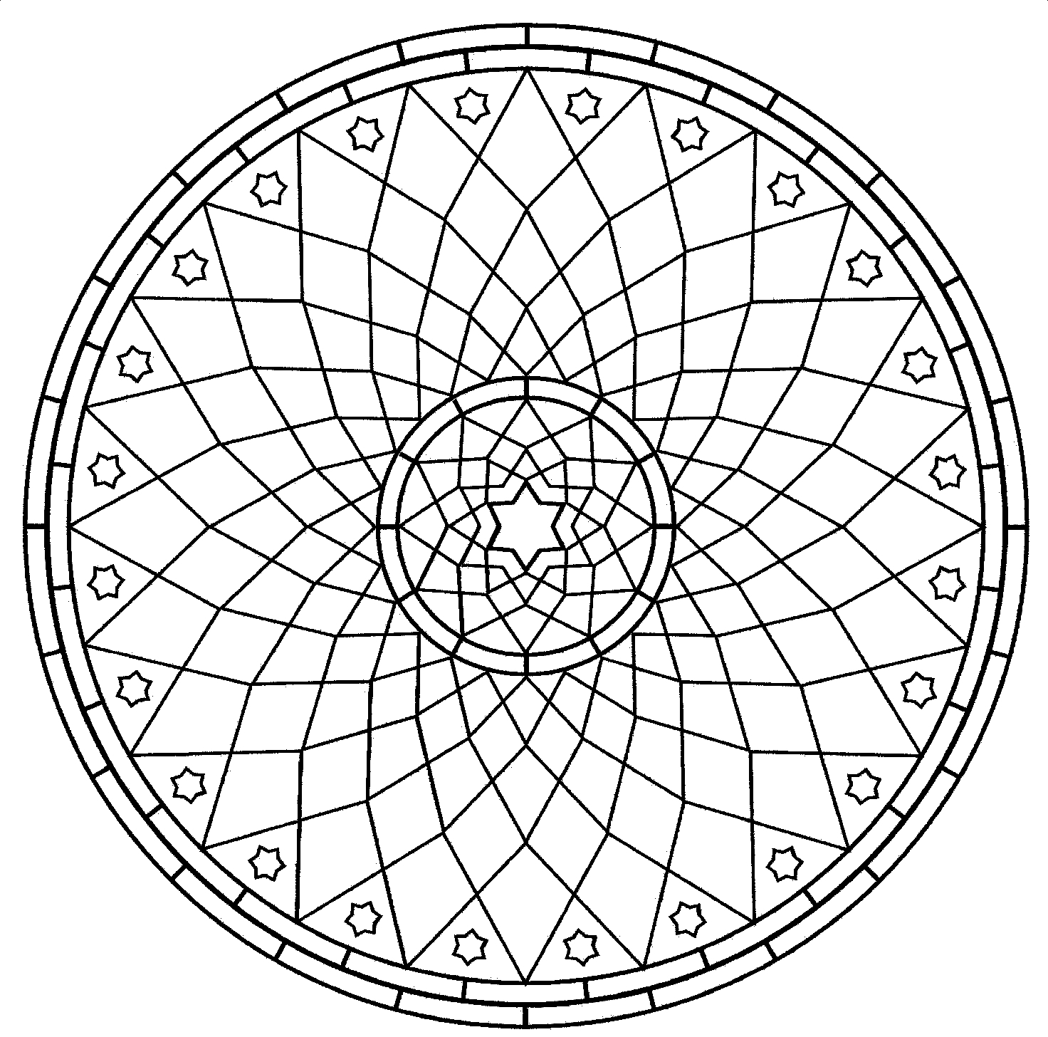 free geometic coloring pages - photo#24