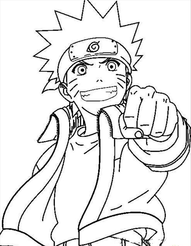 naruto print out coloring pages - photo#6