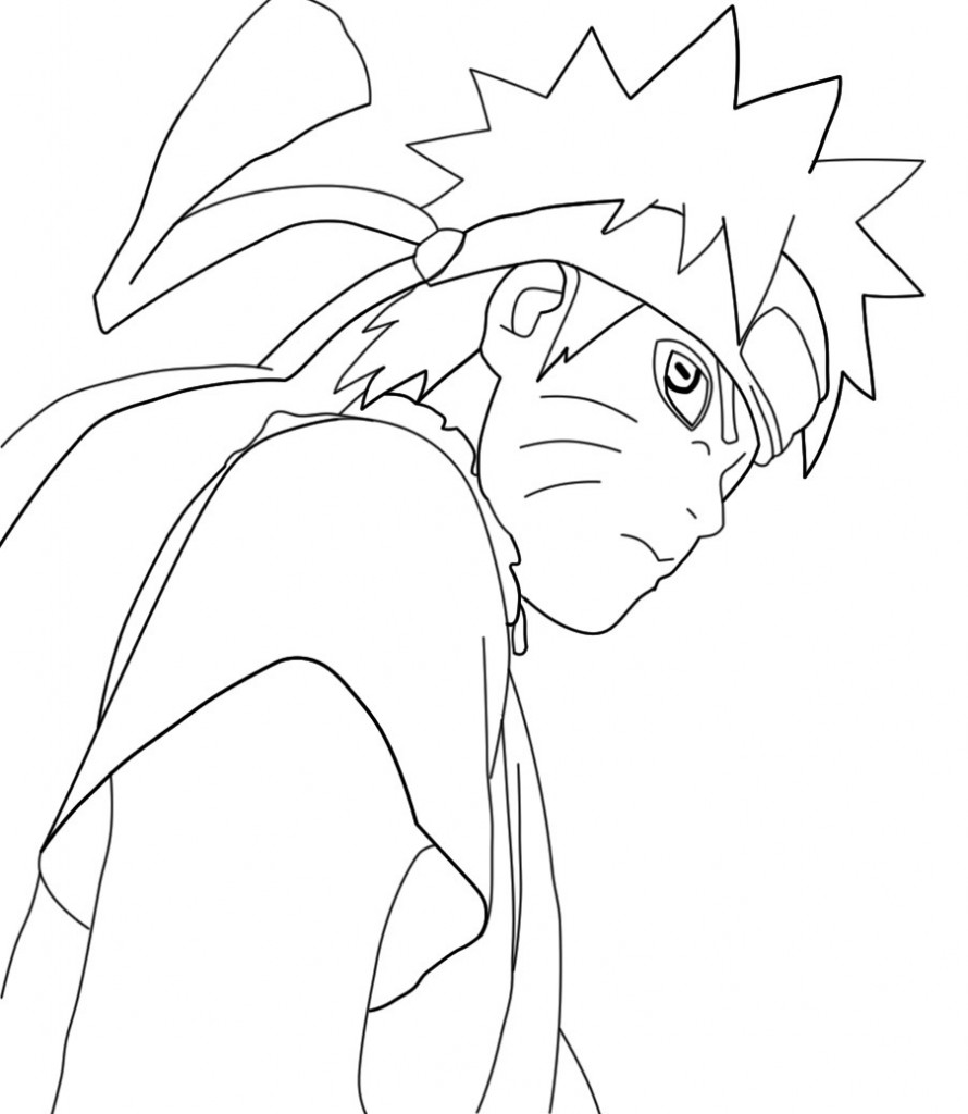 Naruto Coloring Pages Online