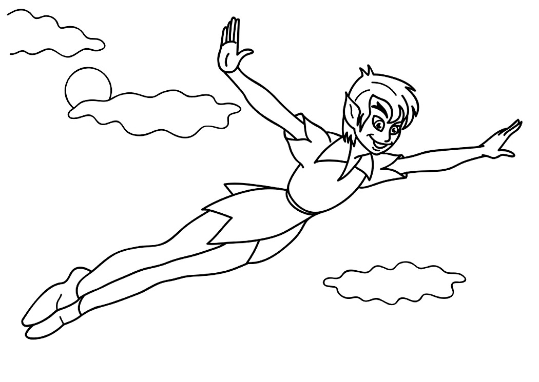 Free Printable Peter Pan Coloring Pages For Kids