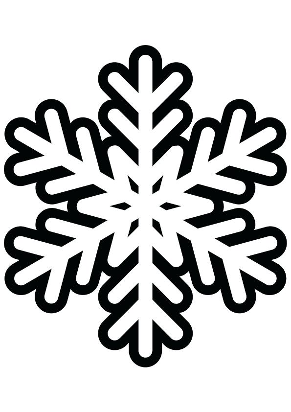 photograph about Snowflake Printable titled Cost-free Printable Snowflake Coloring Web pages For Young children