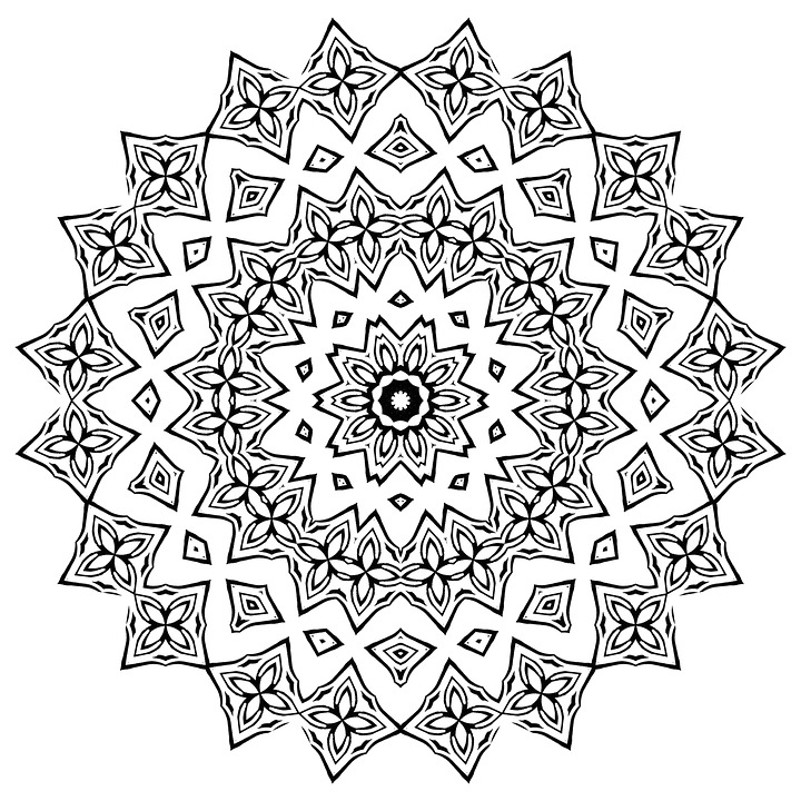 abstract coloring book pages - photo#9