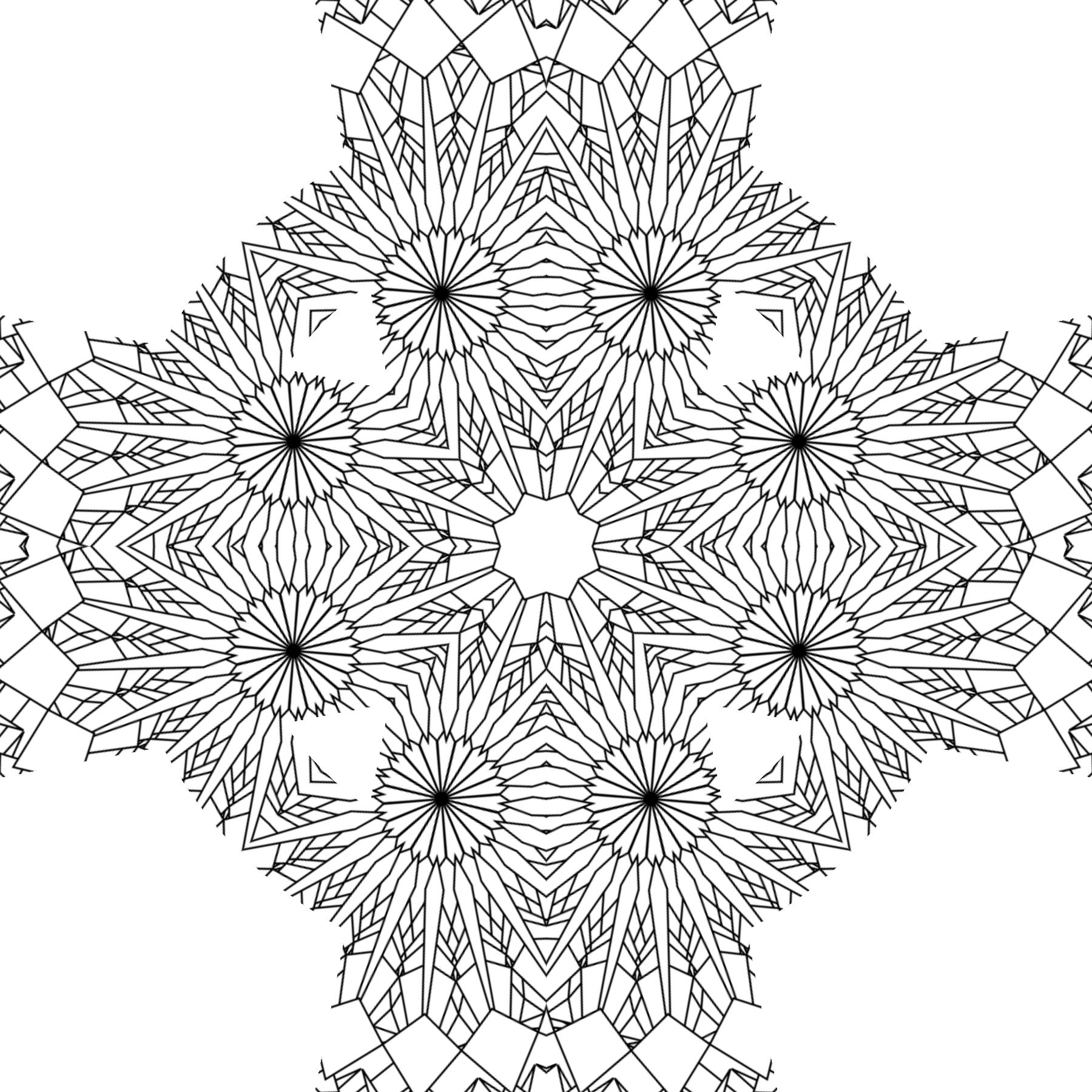 coloring pages patterns | Free Printable Abstract Coloring Pages for Adults