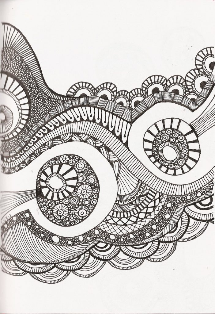 Zentangles Patterns For Kids