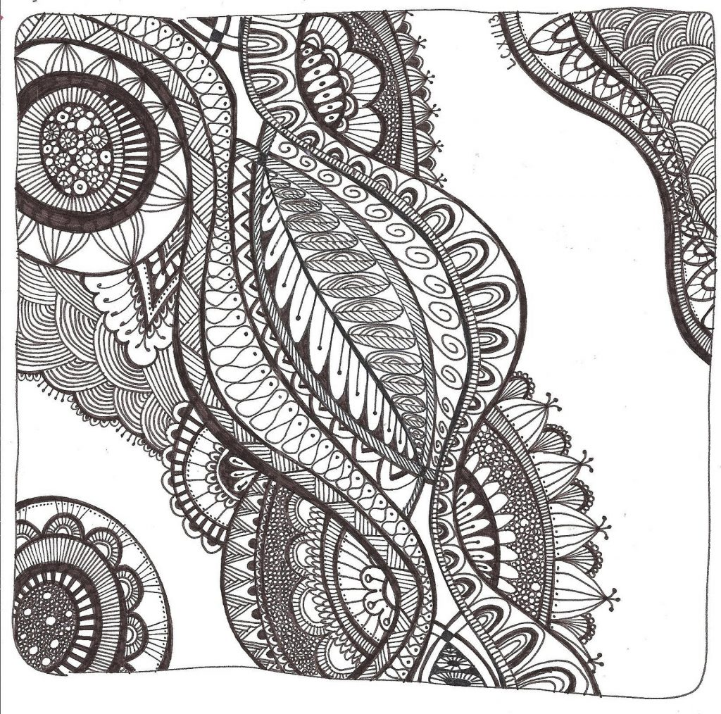 free zentangle printables