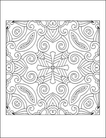 geometric coloring books