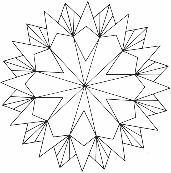 coloring pages for adults geometric - photo#15