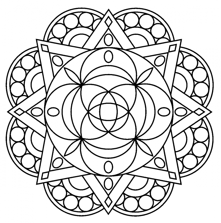 Free Printable Mandala Coloring Pages For Adults - Best ...