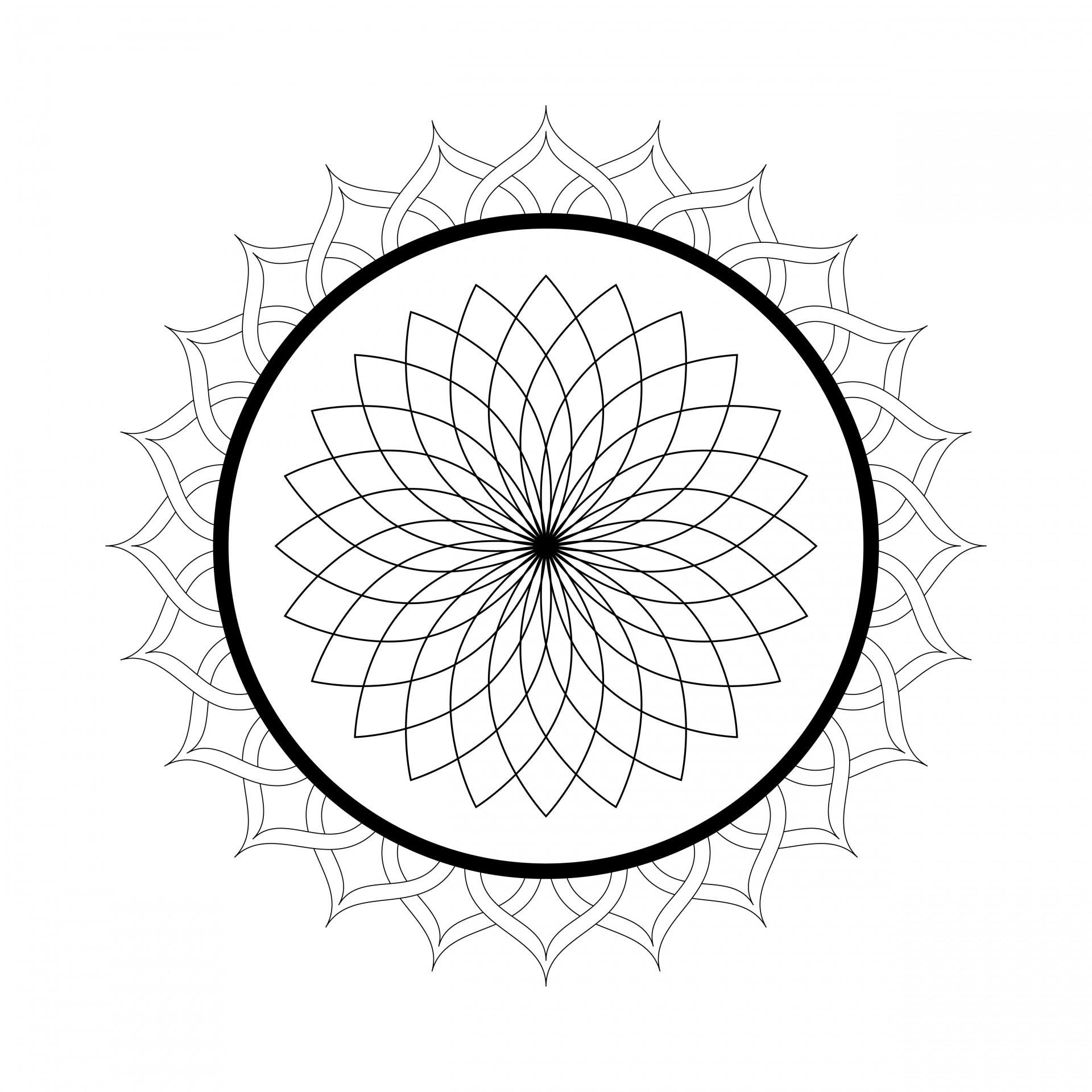 free mandalas coloring pages - photo#42