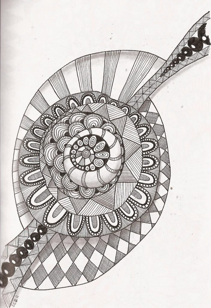 zentangle coloring pages free