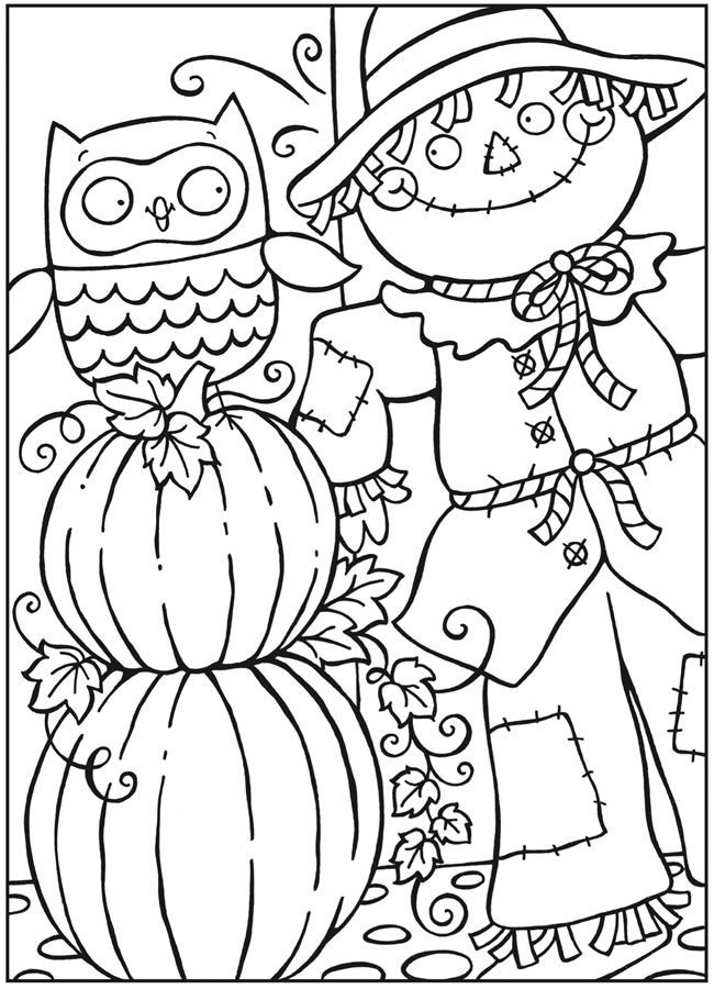 Free Printable Fall Coloring Pages for Kids - Best Coloring ...