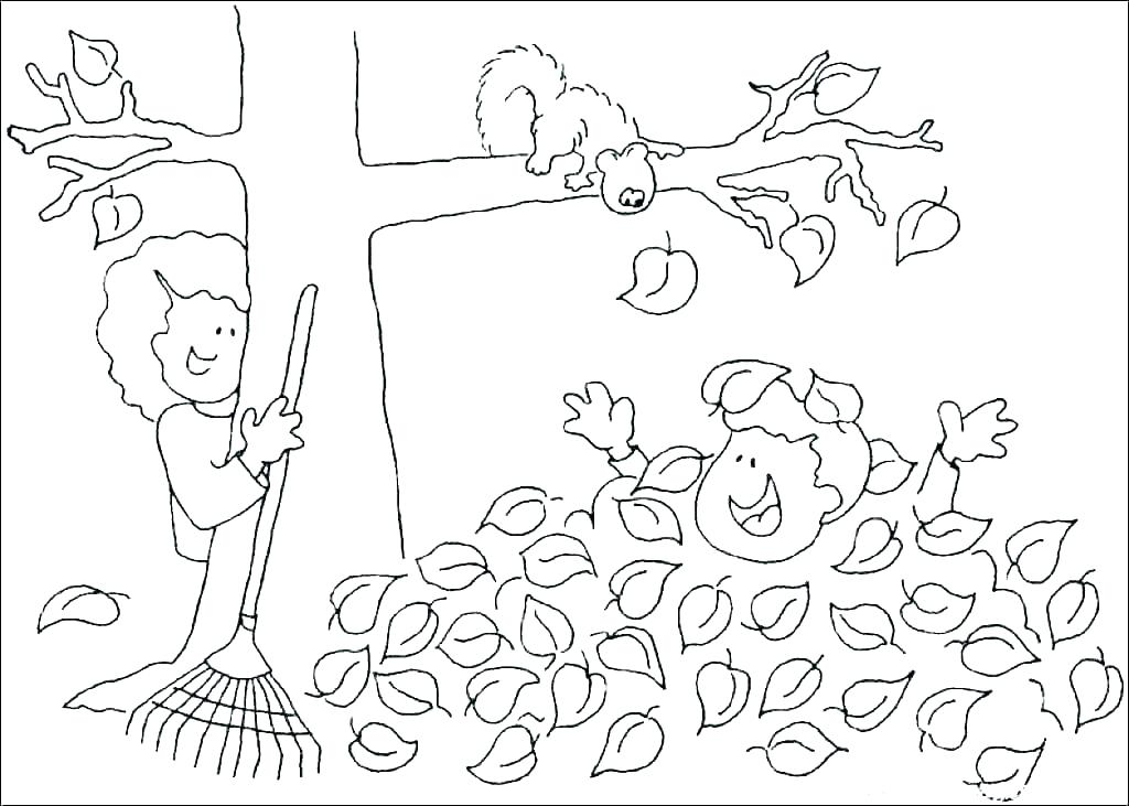 Free Printable Fall Coloring Pages For Kids - Best Coloring Pages For Kids