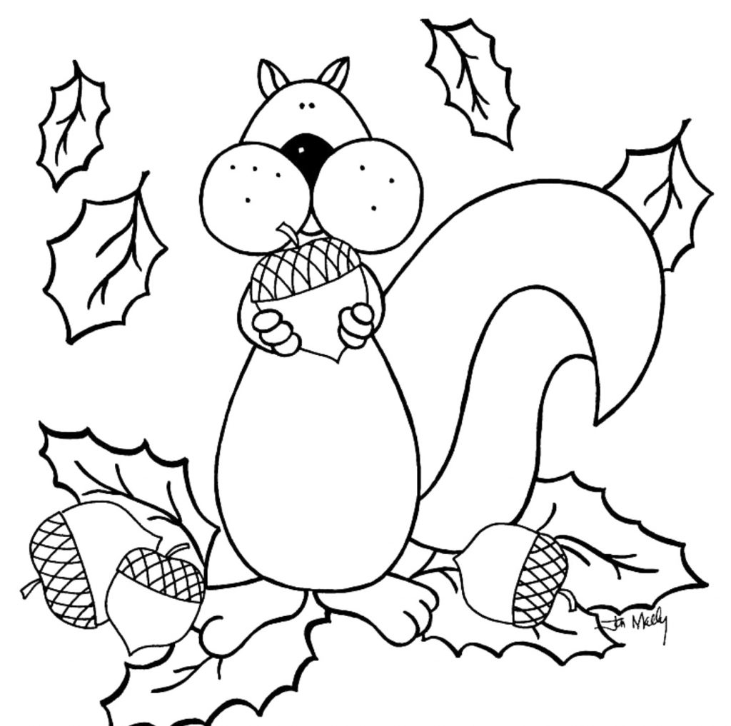 Clean image intended for free printable fall coloring pages