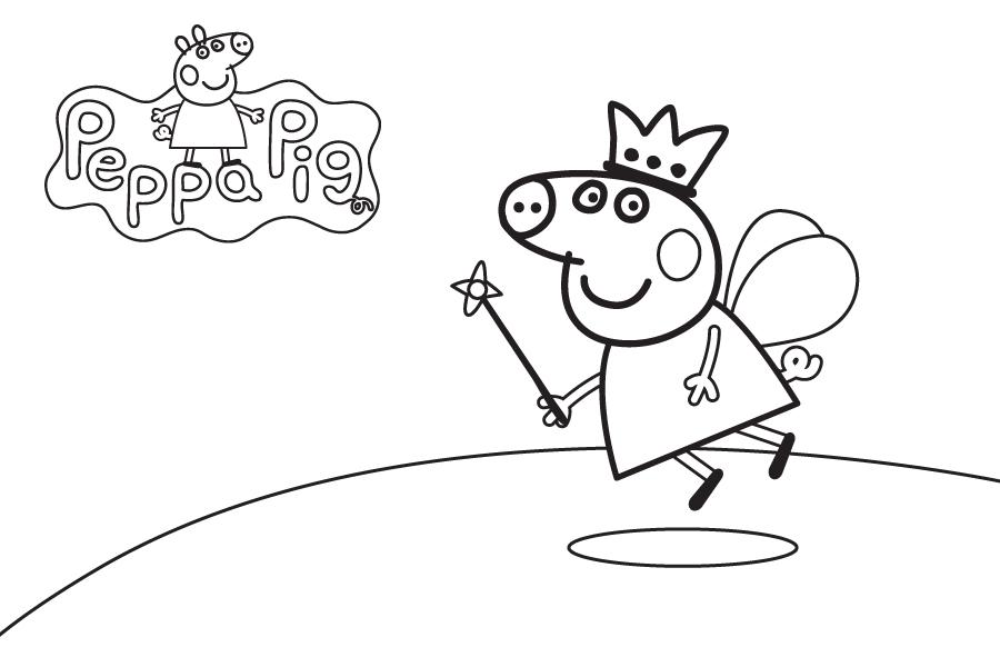 peppa pig de pintar