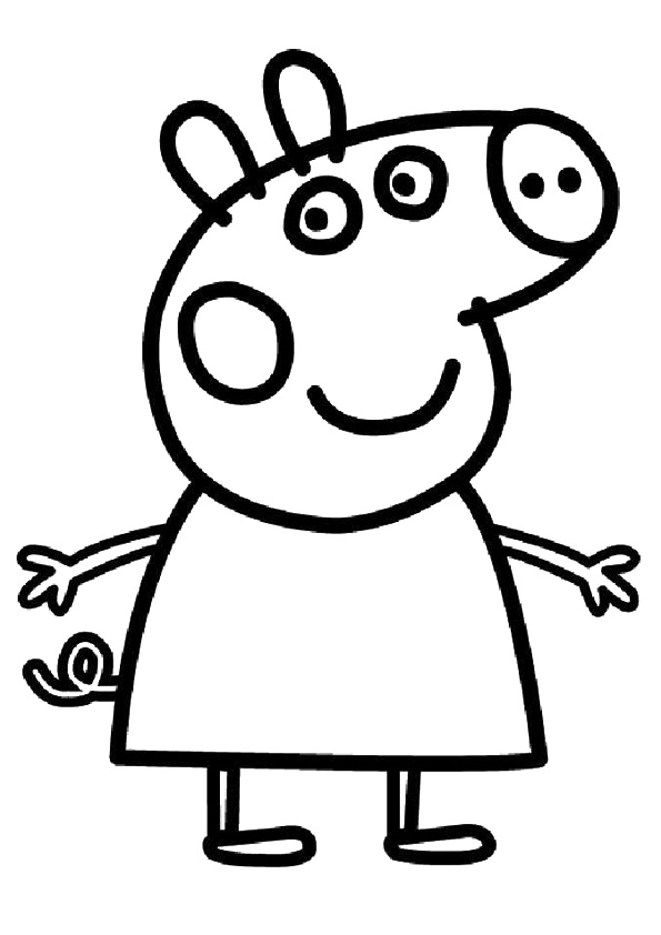 pintar a peppa pig