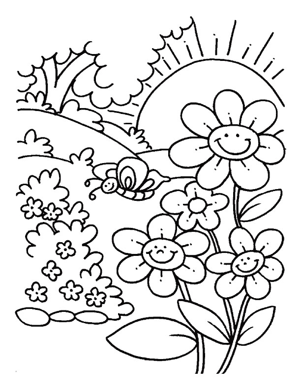 Free Printable Flower Coloring Pages For Kids - Best Coloring Pages For Kids