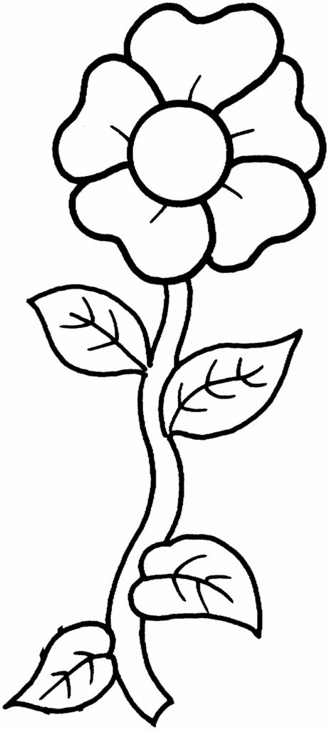 free flower printable
