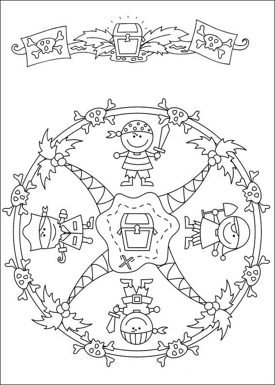 Free printable mandalas for kids best coloring pages for kids - Mandala garcon ...