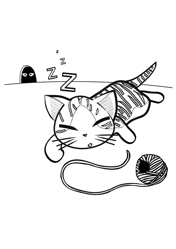 printable kitten image