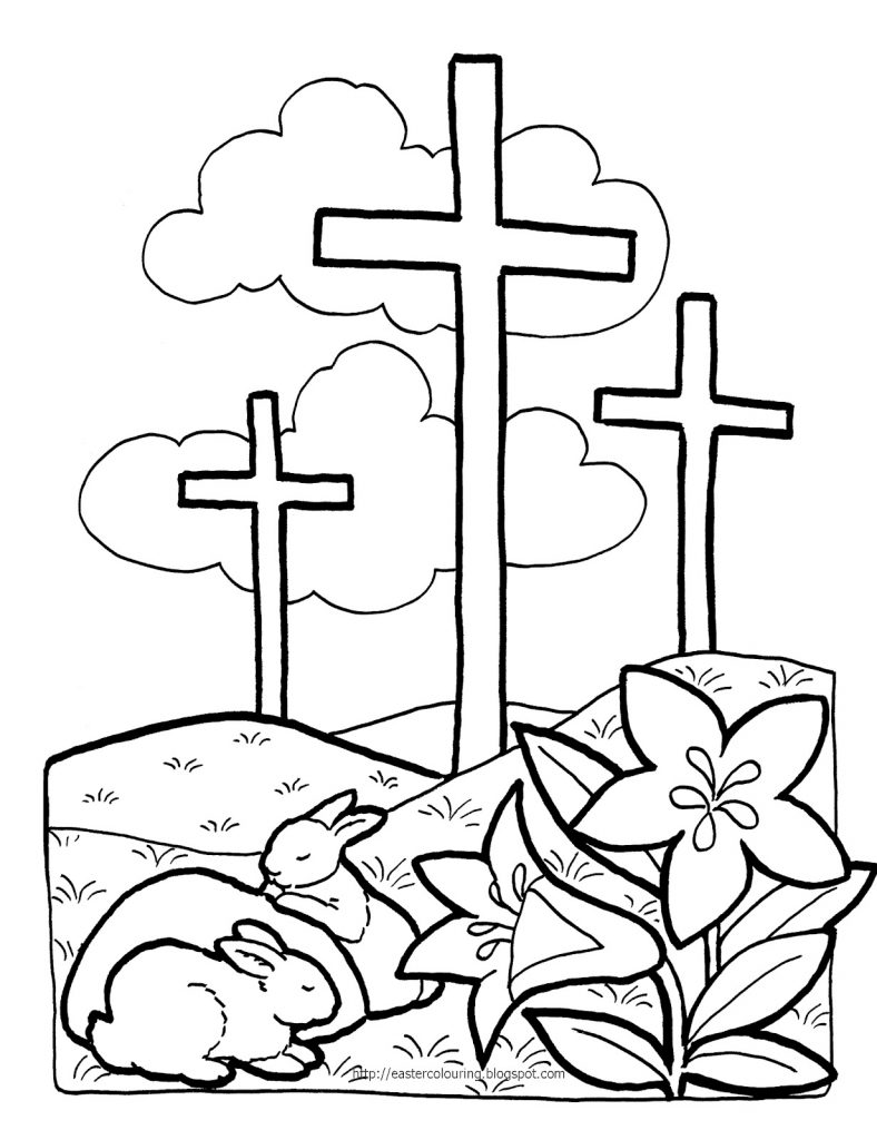 Printable christian coloring pages