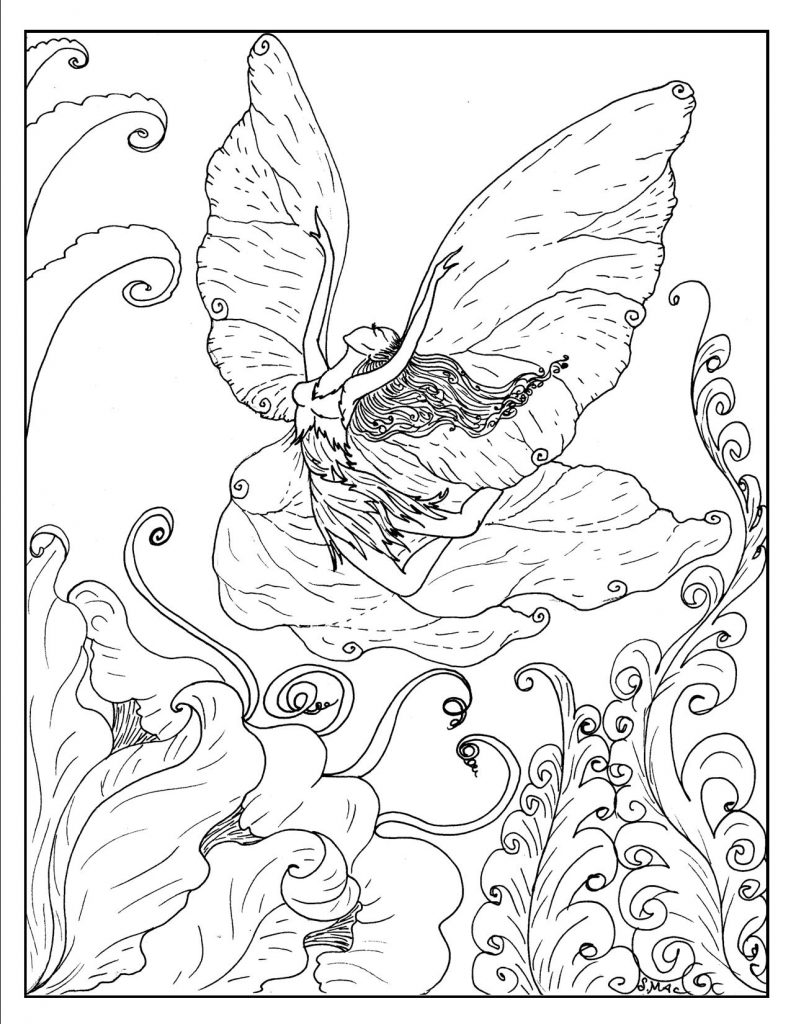 fairy-fantasy-coloring-pages