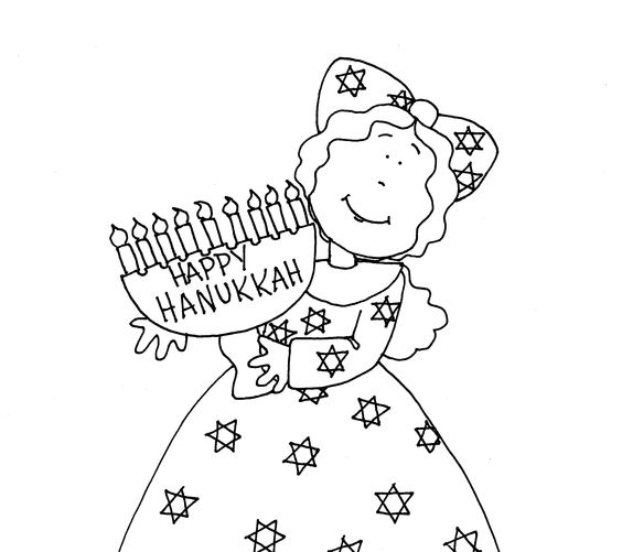 free-menorah-coloring-printables