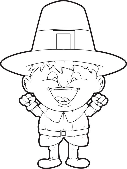 Free Printable Pilgrim Coloring Pages for Kids - Best Coloring Pages ...