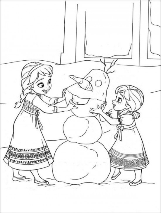 - Free Printable Frozen Coloring Pages For Kids - Best Coloring Pages For Kids