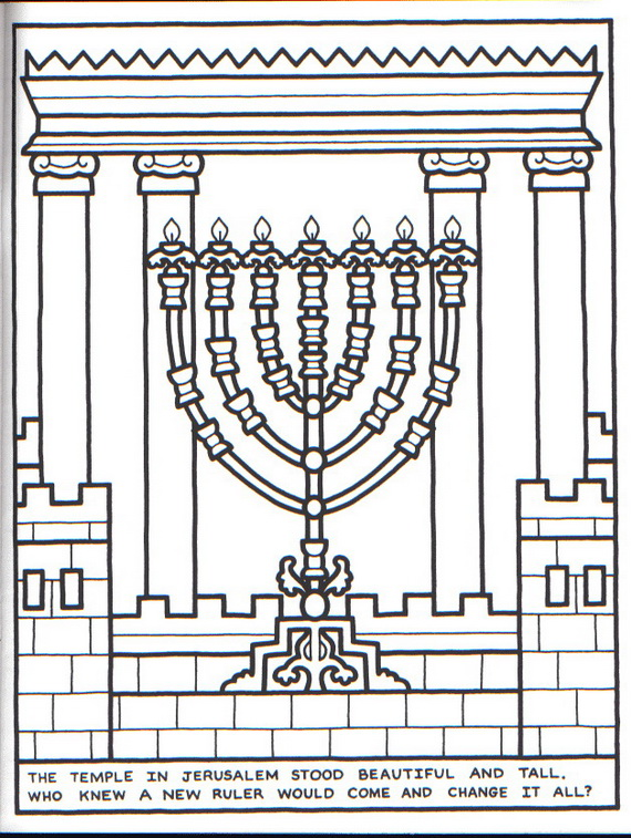 hanukkah-coloring-pages-menorah