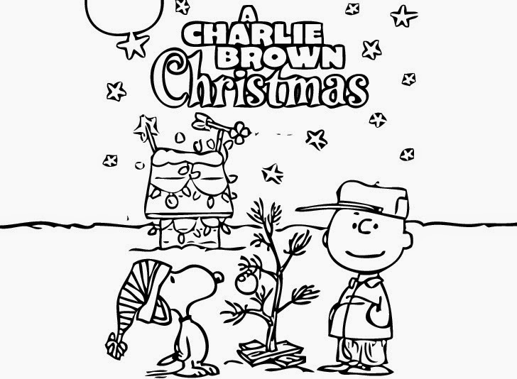 coloring pages charlie brown christmas coloring pages and clip