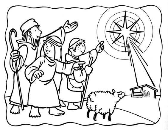 Free printable nativity coloring pages for kids best for Wisemen coloring pages