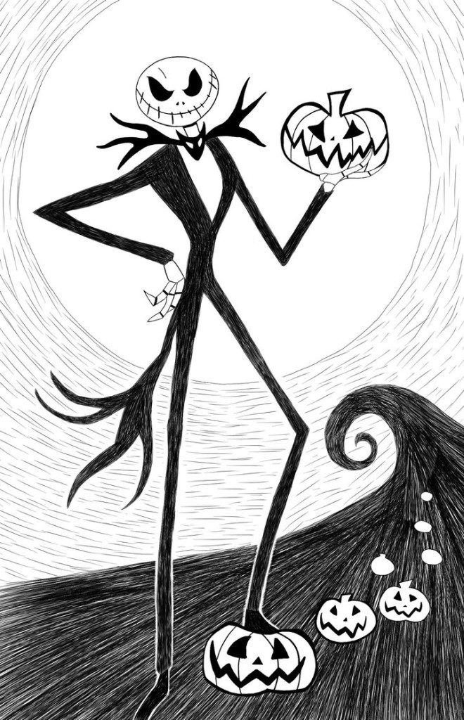 photograph about Jack Skellington Printable called Cost-free Printable Nightmare In advance of Xmas Coloring Web pages